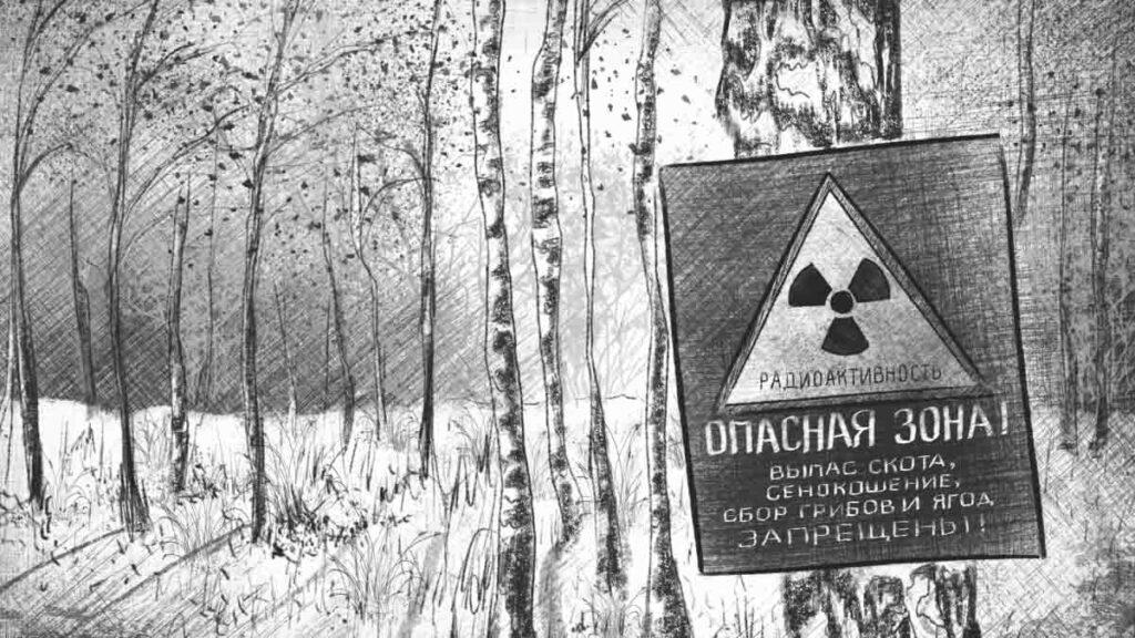 Бурый медведь – символ Чернобыля